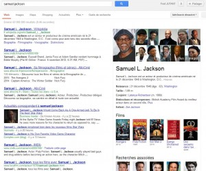 Google Knowledge Graph Samuel Jackson