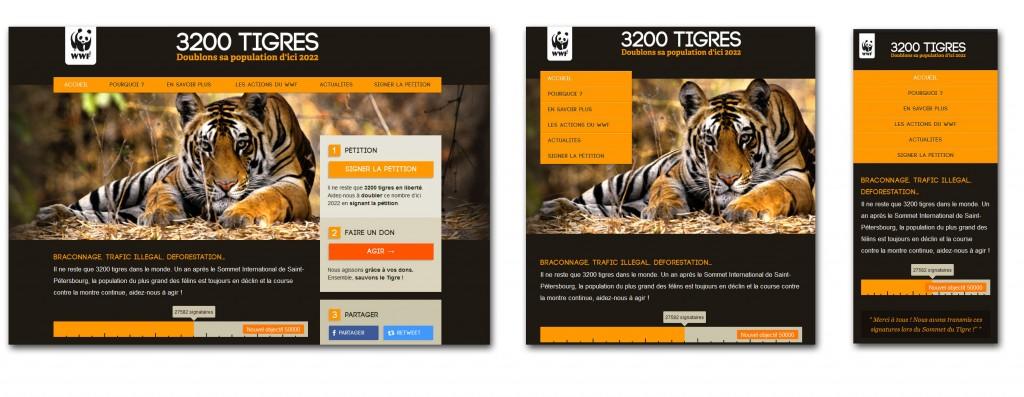 Exemple responsive design