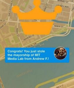 Mayor Foursquare