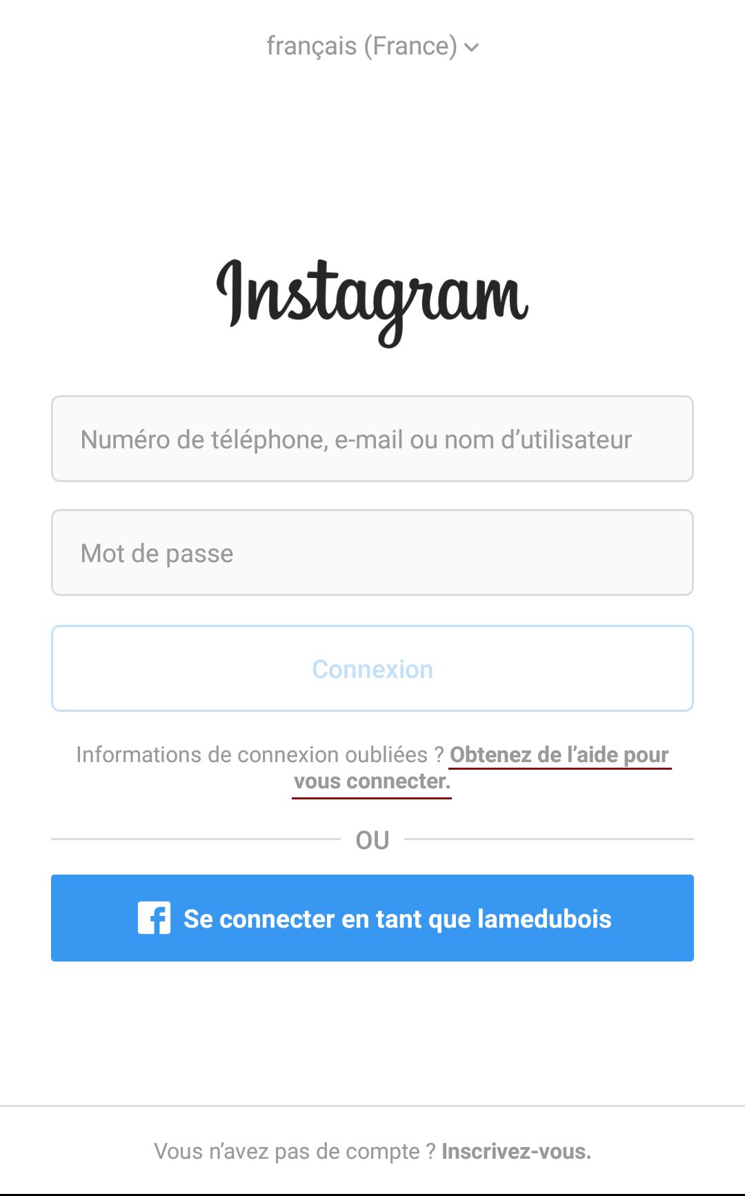 comment pirater un compte instagram avec le nom dutilisateur