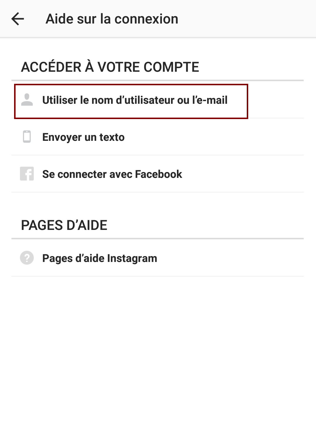 compte instagram pirate adresse mail changee