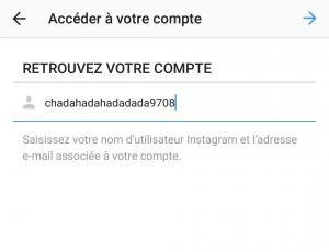 Récupérer compte instagram piraté